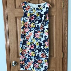 The Limited floral sleeveless dress